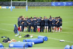 XV de France - Les Bleus ont travaill� le secteur offensif