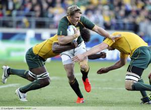 Tourn�e - Afrique du Sud : Jean de Villiers forfait