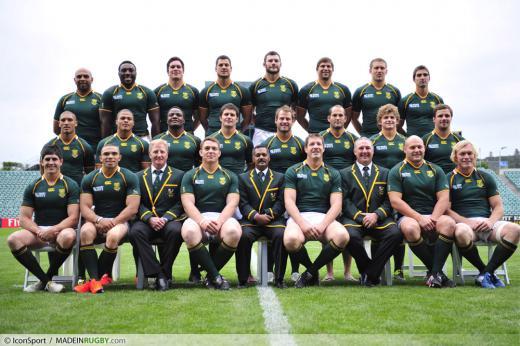 Springboks habana a vu trop de fautes - Coupe du monde rugby afrique du sud 1994 ...