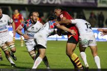 Henry TUILAGI  - 09.12.2011 - Perpignan / Cavalieri Prato - Amlin Cup 2011/2012