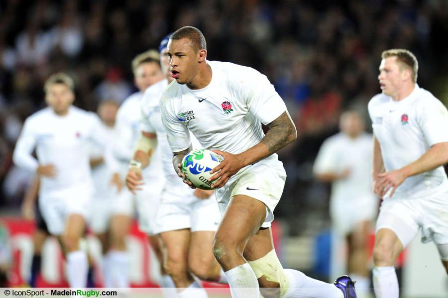Photos foot courtney lawes angleterre france 1 4 finale coupe du monde de - Finale coupe du monde rugby 2011 ...