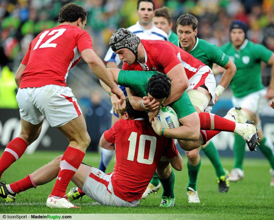Photos foot danny lydiate sean o 39 brien - Finale coupe du monde de rugby 2011 video ...