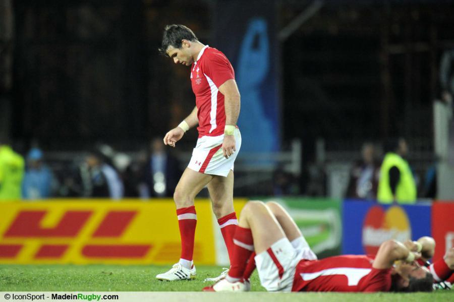 Photos foot deception mike phillips france pays de galles 1 2 finale coupe - Finale coupe du monde de rugby 2011 video ...