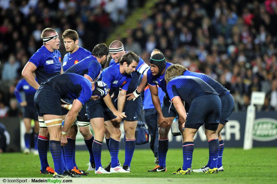 Photos foot groupe thierry dusautoir angleterre france 1 4 finale coupe - Finale coupe du monde rugby 2011 ...