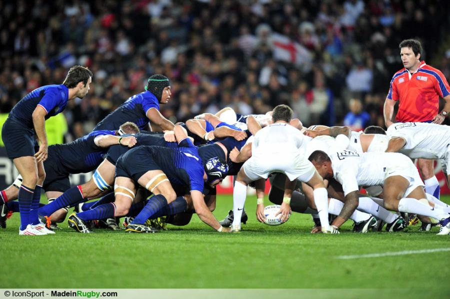 Photos foot illustration melee angleterre france 1 4 finale coupe du monde - Finale coupe du monde de rugby 2011 video ...