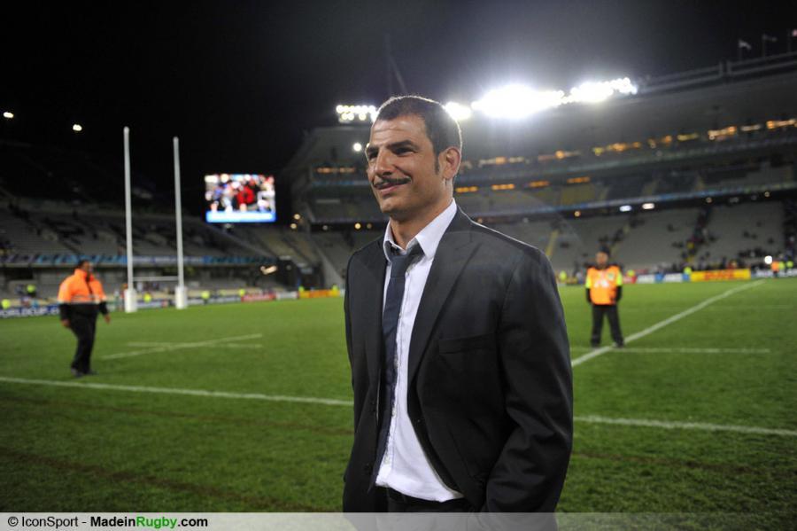 Photos foot joie france marc lievremont france pays de galles 1 2 finale - Finale coupe du monde de rugby 2011 video ...