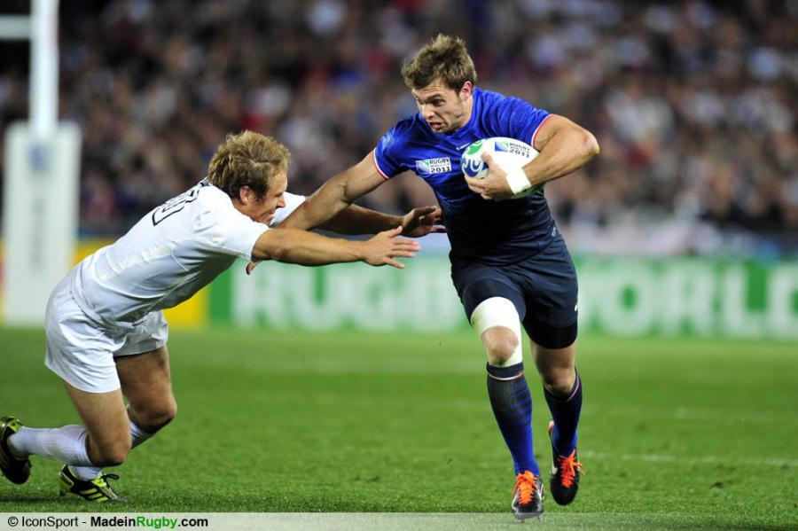 Photos foot jonny wilkinson vincent clerc angleterre france 1 4 finale - Finale coupe du monde de rugby 2011 video ...
