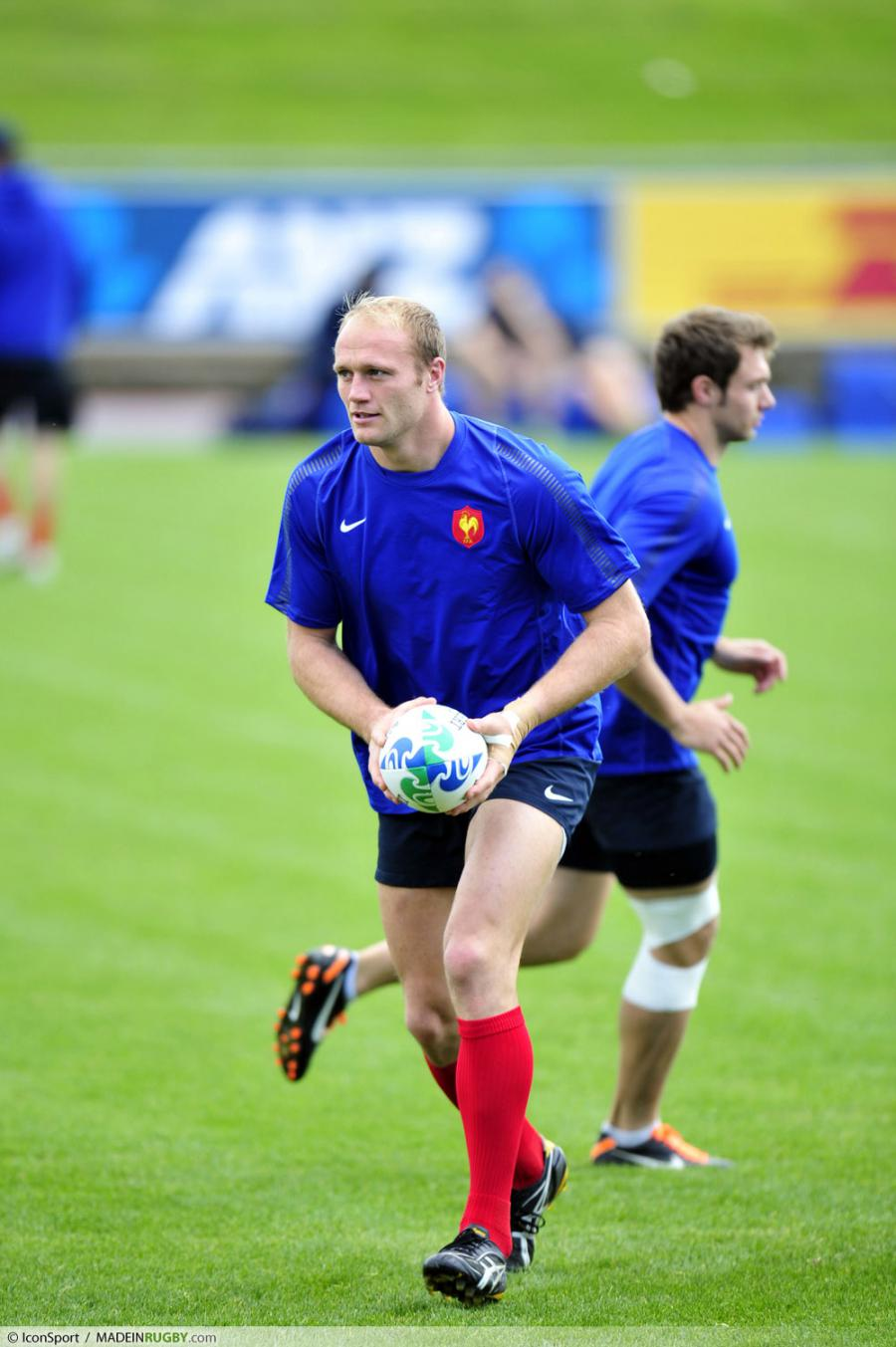 Photos foot julien bonnaire entrainement equipe de france coupe du monde de - Coupe du monde de rugby france ...