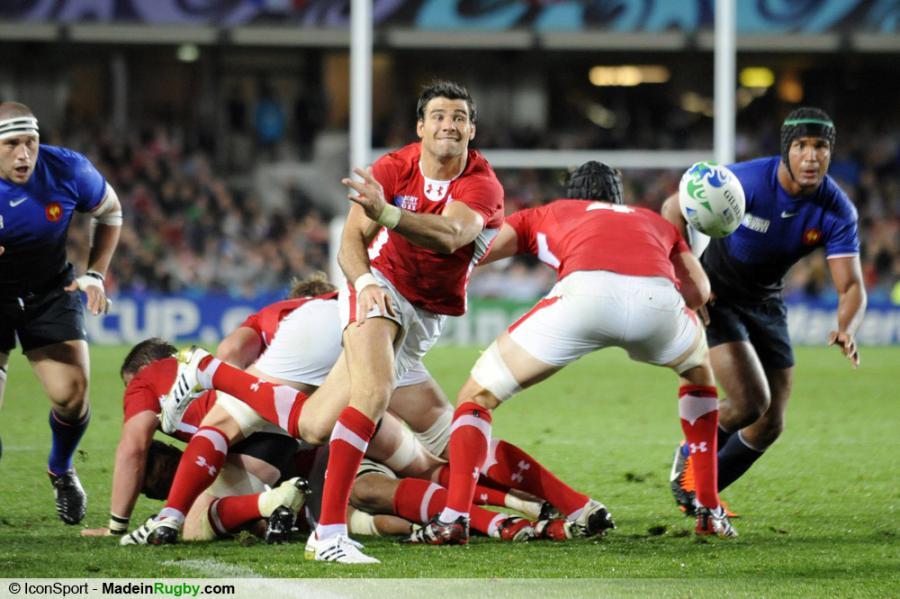 Photos foot mike phillips france pays de galles 1 2 finale coupe du monde - Finale coupe du monde de rugby 2011 video ...