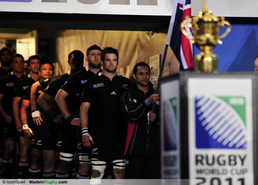 Photos foot richie mccaw equipes avant la finale 23 - Finale coupe du monde de rugby 2011 video ...
