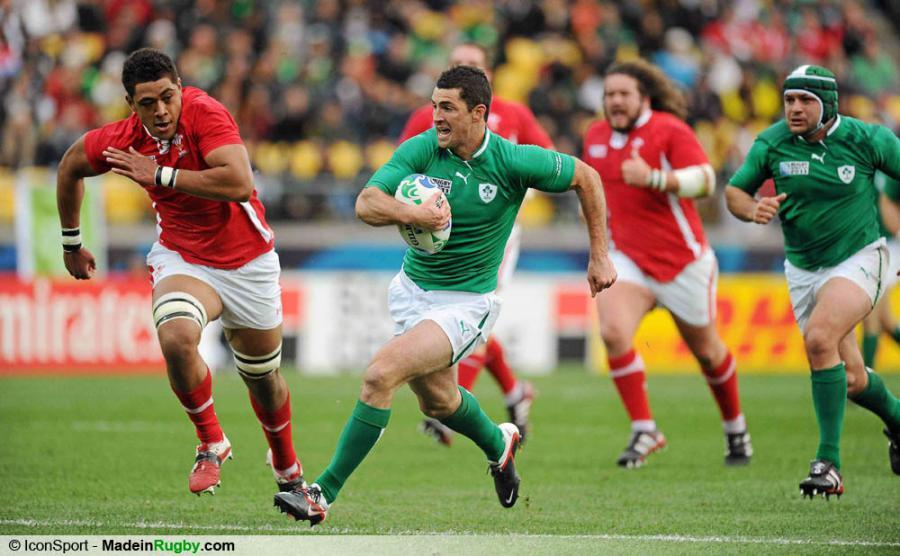 Photos foot rob kearney irlande pays de galles 1 4 finale coupe du monde de - Finale coupe du monde de rugby 2011 video ...