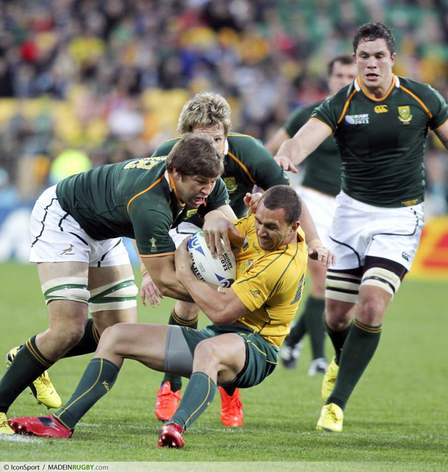 Photos foot willem alberts quade cooper - Coupe du monde rugby afrique du sud ...