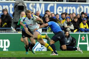 Photos Rugby : Aurelien ROUGERIE   - 09.12.2012 - Clermont / Leinster  - Heineken Cup