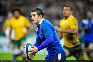 Photos Rugby : Brice DULIN  - 10.11.2012 - France / Australie - Test Match -Saint Denis-