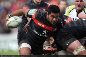 Photos Rugby : Christopher Tolofua - 08.12.2012 - Toulouse / Osprey - Heineken Cup