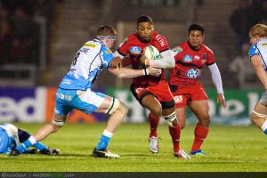 Photos Rugby : Delon Armitage - 08.12.2012 - Sale / Toulon  - Heineken Cup