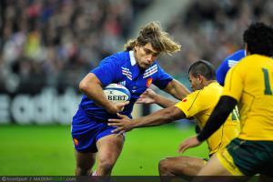 Photos Rugby : Dimitri SZARZEWSKI - 10.11.2012 - France / Australie - Test Match -Saint Denis-