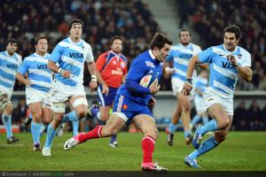 Photos Rugby : Florian FRITZ - 17.11.2012 - France / Argentine - Test Match