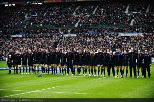 Six Nations - Les joueurs f�licitent le XV de France
