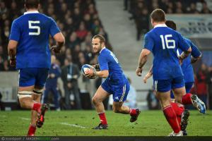 Photos Rugby : Frederic MICHALAK -   17.11.2012 - France / Argentine - Test Match