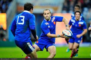 Photos Rugby : Frederic MICHALAK - 10.11.2012 - France / Australie - Test Match -Saint Denis-