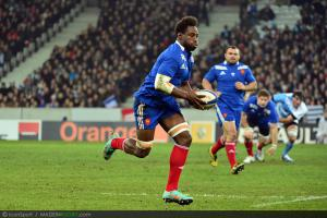 Photos Rugby : Fulgence OUEDRAOGO   - 17.11.2012 - France / Argentine - Test Match