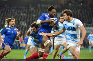 Photos Rugby : Fulgence OUEDRAOGO- 17.11.2012 - France / Argentine - Test Match