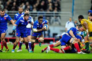 Photos Rugby : Fulgence OUEDRAOGO - 10.11.2012 - France / Australie - Test Match -Saint Denis-