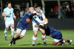 Photos Rugby : Guilhem GUIRADO - 30.11.2012 - Perpignan / Agen - 12eme journee Top14