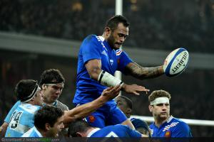 Photos Rugby : Jocelino SUTA   - 17.11.2012 - France / Argentine - Test Match