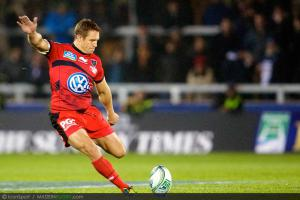 Photos Rugby : Jonny Wilkinson  - 08.12.2012 - Sale / Toulon  - Heineken Cup
