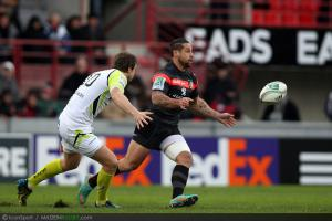 Photos Rugby : Luke McAlister   - 08.12.2012 - Toulouse / Osprey  - Heineken Cup