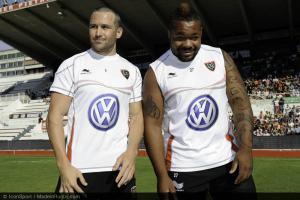 XV de France - Trois joueurs ont rendu visite � Matt Giteau