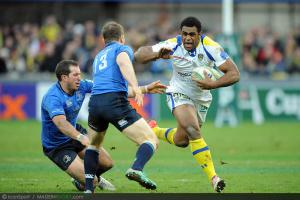 Photos Rugby : Napolioni NALAGA   - 09.12.2012 - Clermont / Leinster  - Heineken Cup