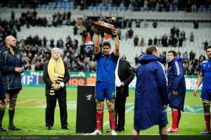 Photos Rugby : Pascal PAPE - Trophee des Bicentenaire - 10.11.2012 - France / Australie - Test Match -Saint Denis-