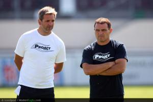 Raphael Ibanez  / Regis Sonnes - 16.08.2012 - Entrainement Union Bordeaux Begles 2012/2013