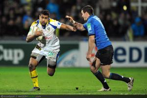 Photos Rugby : Wesley FOFANA - 09.12.2012 - Clermont / Leinster - Heineken Cup