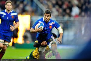 Photos Rugby : Wesley FOFANA - 10.11.2012 - France / Australie - Test Match -Saint Denis-