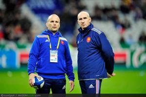 Photos Rugby : Yannick BRU / Patrice LAGISQUET - 10.11.2012 - France / Australie - Test Match -Saint Denis-