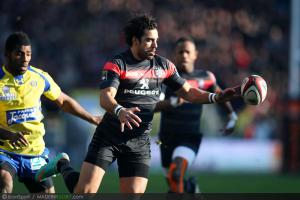 Photos Rugby : Yoann Huget - 01.12.2012 - Toulouse / Clermont Auvergne - 12e journee Top 14