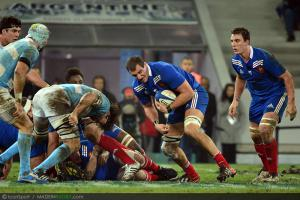 Photos Rugby : Yoann MAESTRI  - 17.11.2012 - France / Argentine - Test Match