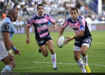 Julien ARIAS  - 25.08.2012 - Bayonne  / Stade Francais - 2eme journee du Top 14