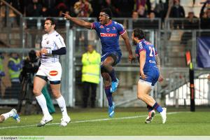 Joie Ratu alipate RATINI - 29.12.2013 - Grenoble / Castes - 15eme journee de Top 14 -
