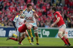 HCup - Clermont : Lee Byrne bless�