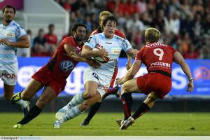 Maxime MERMOZ / Henry CHAVANCY - 02.08.2013 - Toulon / Racing Metro 92 - Match de Preparation saison 2013/2014