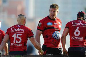 Top 14 - Toulon : le XV de d�part pour le Racing-M�tro