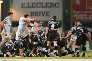 Wenceslas LAURET / Arnaud MELA - 21.12.2013 - Brive / Racing Metro 92  - 14eme Journee du Top 14