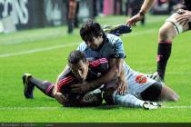 Essai de Julien Arias - 02.11.2013 - Stade Francais / Bayonne - 11e journee de Top 14
