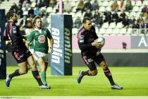 Essai Julien ARIAS - 10.10.2013 - Stade Francais / Lusitanos XV - Amlin Challenge Cup
