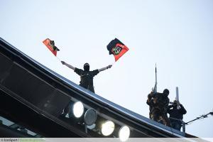 Top 14 - Le RCT au balcon de la mairie de Toulon